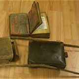 Ethiopian Binding: Leather-Covered Wooden Boards with Leather Carrying Case 2008