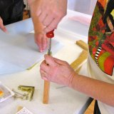 Papermaking with Plant Fiber with Nancee Wipperfurth 2010