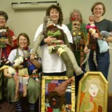 Wild and Wooly Art Dolls 2005